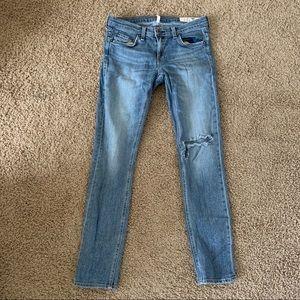 Rag & Bone Dre Jeans Distressed